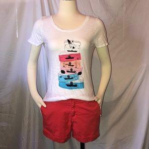 Elle top & Elle shorts outfit